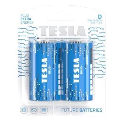 Baterie TESLA BLUE+ D (R20) 2ks