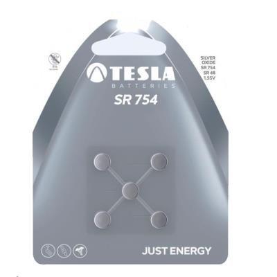 Baterie TESLA SILVER SR754 (SR48) 5ks
