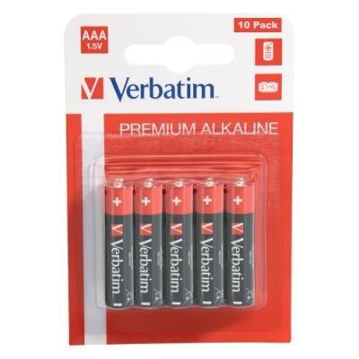Baterie Verbatim AAA alkalické 10ks