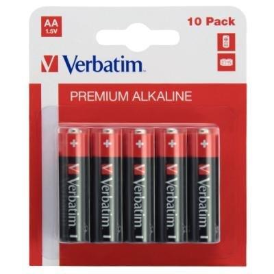Baterie Verbatim AA alkalické 10ks