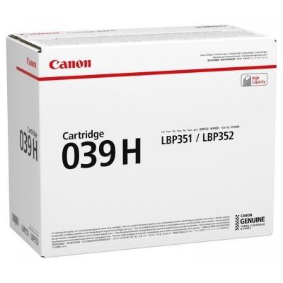 Canon 039H černý