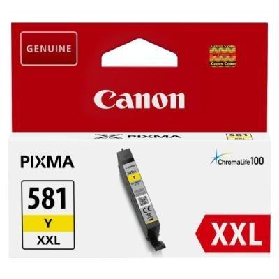 Inkoustová náplň Canon PGI-581Y XXL žlutá