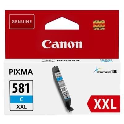 Inkoustová náplň Canon PGI-581C XXL modrá