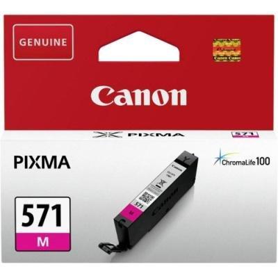 Inkoustová náplň Canon CLI-571M červená