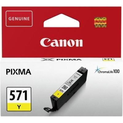 Inkoustová náplň Canon CLI-571Y žlutá
