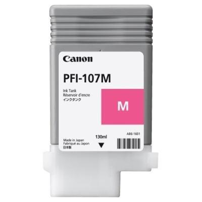 Inkoustová náplň Canon PFI-107M červená