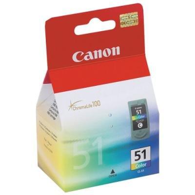 Inkoustová náplň Canon CL-51 barevná