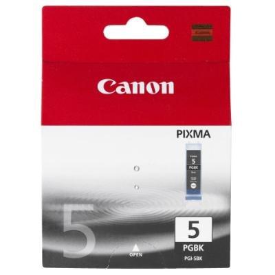 Inkoustová náplň Canon PGI-5Bk černá
