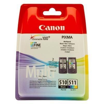 Inkoustová náplň Canon PG-510 PG-511 CMYK