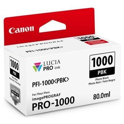 Inkoustová náplň Canon PFI-1000 foto černá