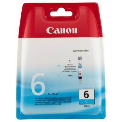 Inkoustová náplň Canon BCI-6C modrá