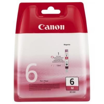 Inkoustová náplň Canon BCI-6M červená