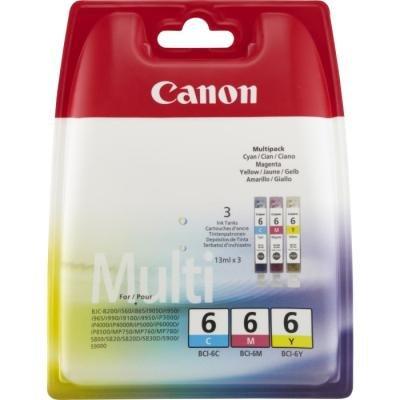 Inkoustová náplň Canon BCI-6 multipack