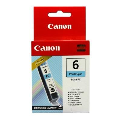 Inkoustová náplň Canon BCI-6PC foto modrá