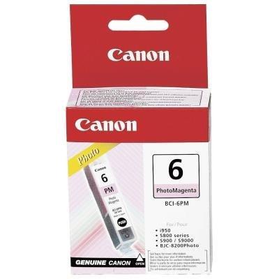 Inkoustová náplň Canon BCI-6PM foto červená