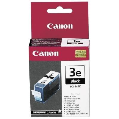Inkoustová náplň Canon BCI-3eBk černá