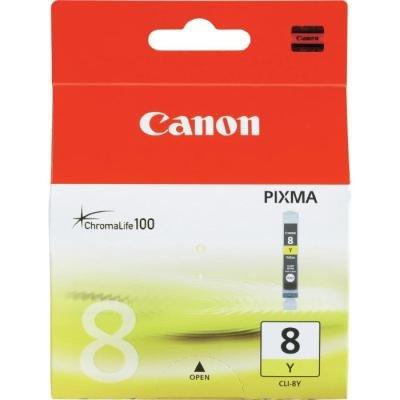 Inkoustová náplň Canon CLI-8Y žlutá
