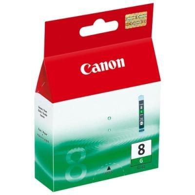 Inkoustová náplň Canon CLI-8G zelená
