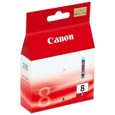 Inkoustová náplň Canon CLI-8R červená