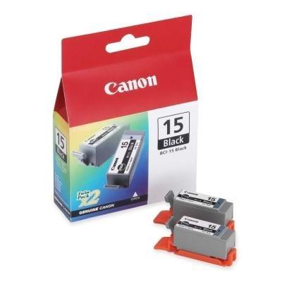 Inkoustová náplň Canon BCI-15B černá 2 ks