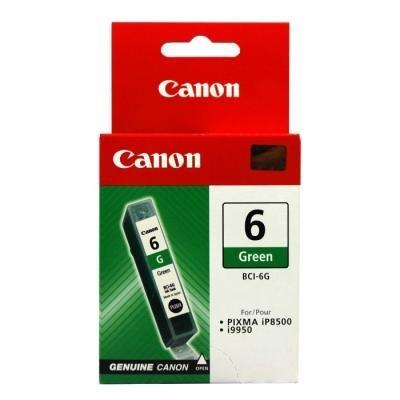 Inkoustová náplň Canon BCI-6G zelená