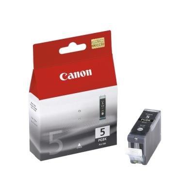 Inkoustová náplň Canon PGI-5BK černá 2 ks