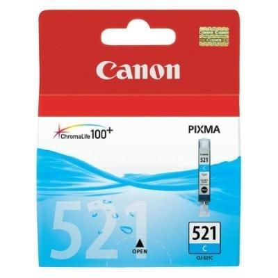 Inkoustová náplň Canon CLI-521C modrá