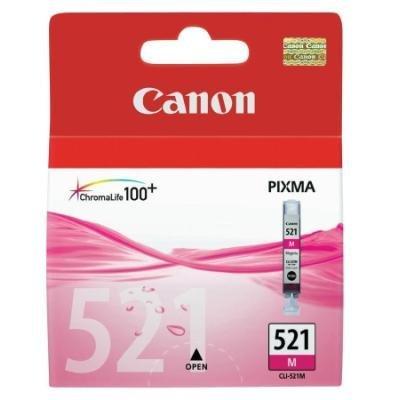 Inkoustová náplň Canon CLI-521M purpurová