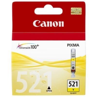 Inkoustová náplň Canon CLI-521Y žlutá
