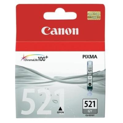 Inkoustová náplň Canon CLI-521GY šedá