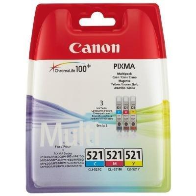 Inkoustová náplň Canon CLI-521 CMY
