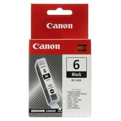 Inkoustová náplň Canon BCI-6BK černá