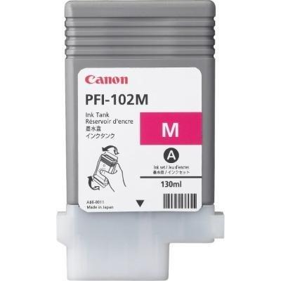 Inkoustová náplň Canon PFI-102M purpurová