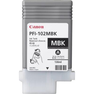 Inkoustová náplň Canon PFI-102MBK matná černá
