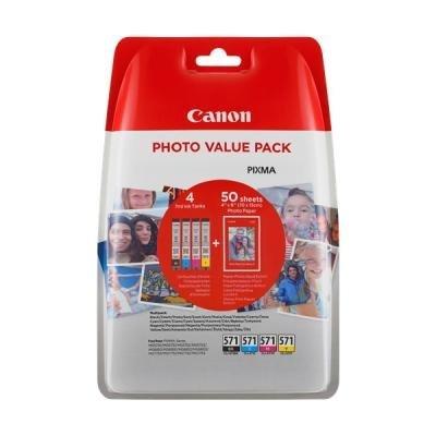 Inkoustová náplň Canon CLI-571 CMYK