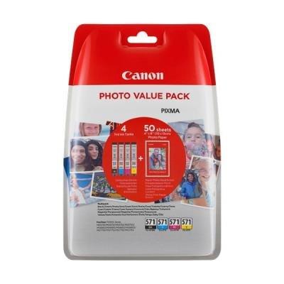 Inkoustové náplně Canon