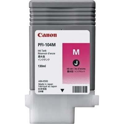 Inkoustová náplň Canon PFI-104M purpurová