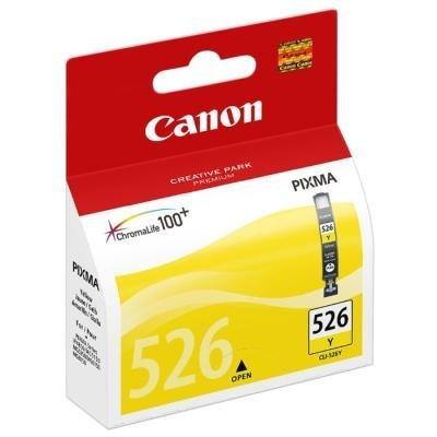 Inkoustová náplň Canon CLI-526Y žlutá