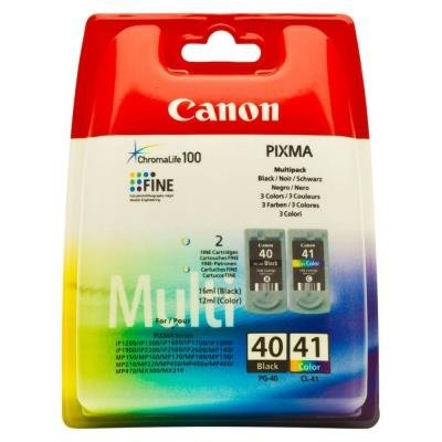 Canon PG-40 CL-41 CMYK
