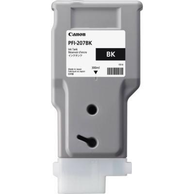 Inkoustová náplň Canon PFI-207BK černá