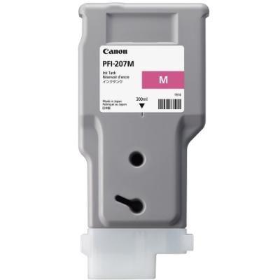 Inkoustová náplň Canon PFI-207M purpurová