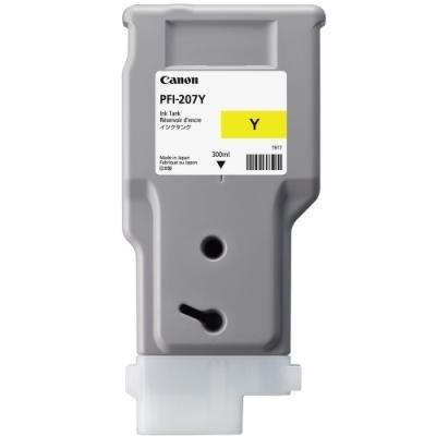 Inkoustová náplň Canon PFI-207Y žlutá