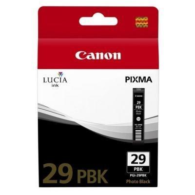 Inkoustová náplň Canon PGI-29PBK foto černá