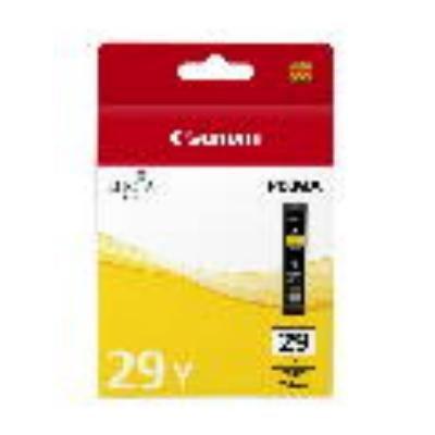 Inkoustová náplň Canon PGI-29Y žlutá