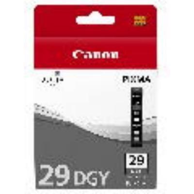 Inkoustová náplň Canon PGI-29DGY tmavě šedá