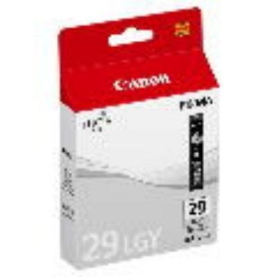 Inkoustová náplň Canon PGI-29LGY světle šedá