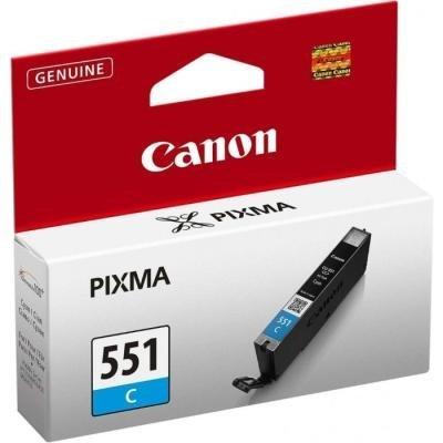 Inkoustová náplň Canon CLI-551 modrá