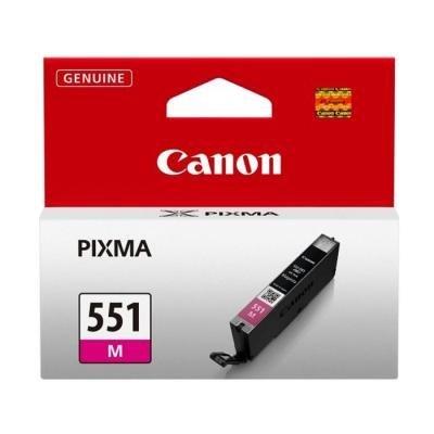Inkoustová náplň Canon CLI-551M purpurová