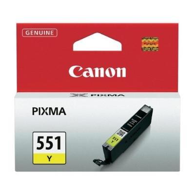 Inkoustová náplň Canon CLI-551Y žlutá