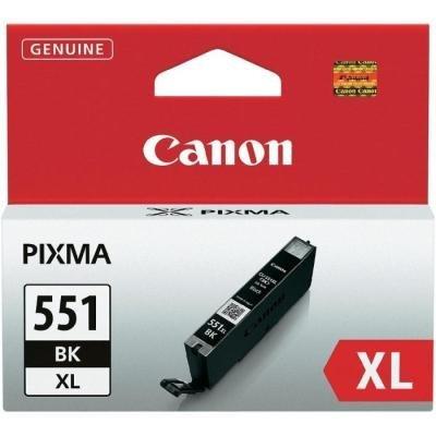 Inkoustová náplň Canon CLI-551Bk XL černá